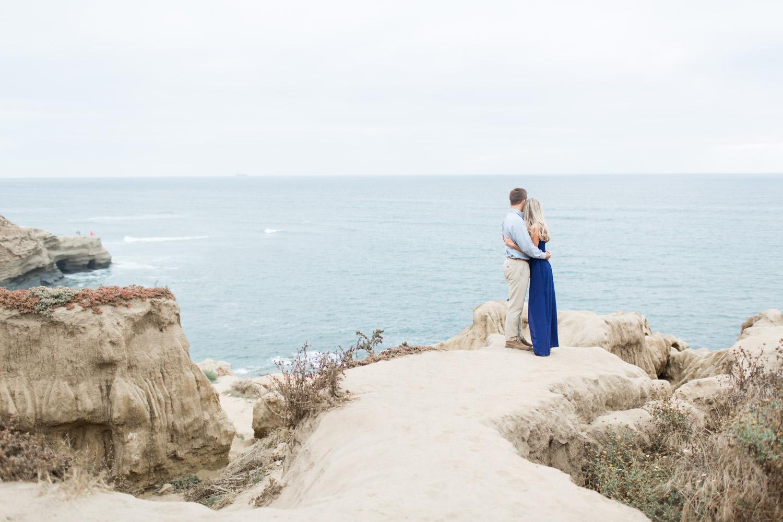 San Diego engagement, Gorgeous Sunset Cliffs Natural Park Engagement Photos, Cavin Elizabeth