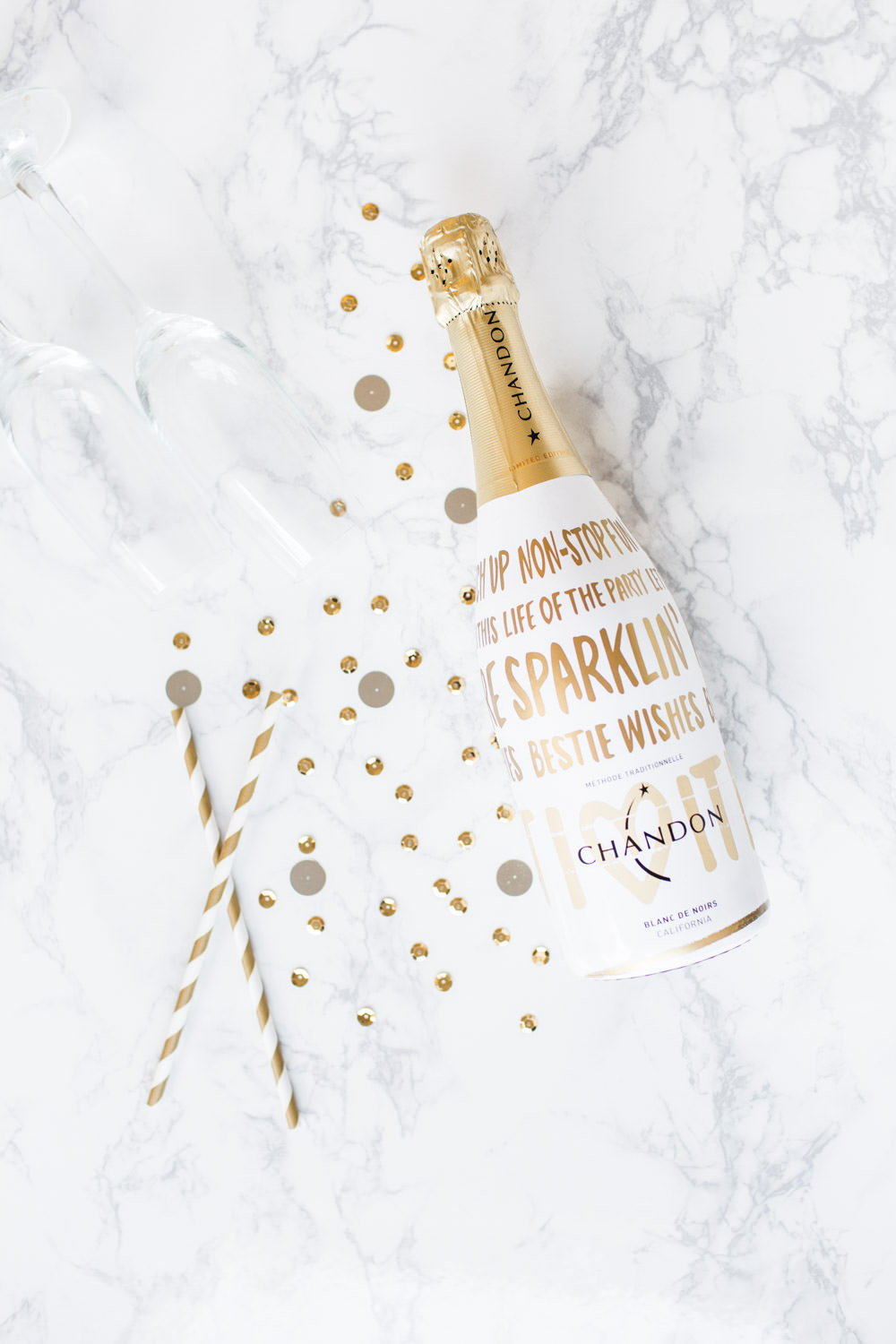 2017 2018 Best Bridesmaids Gifts, champagne by Chandon, image by Cavin Elizabeth
