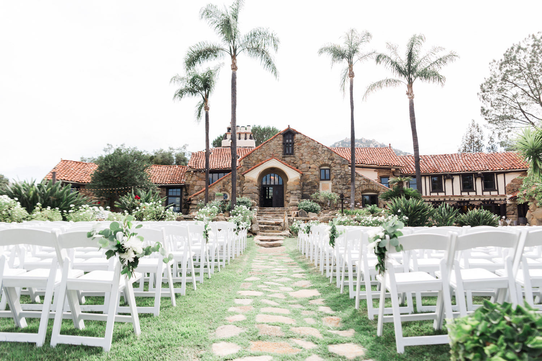 mt woodson castle wedding in ramona california