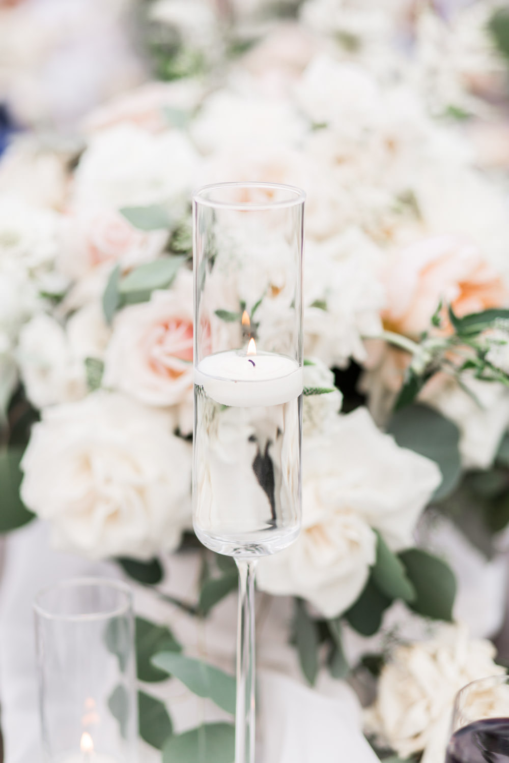 Luxury farm tables with white runner, Intimate San Diego Catamaran Resort Wedding on Mission Bay by Cavin Elizabeth