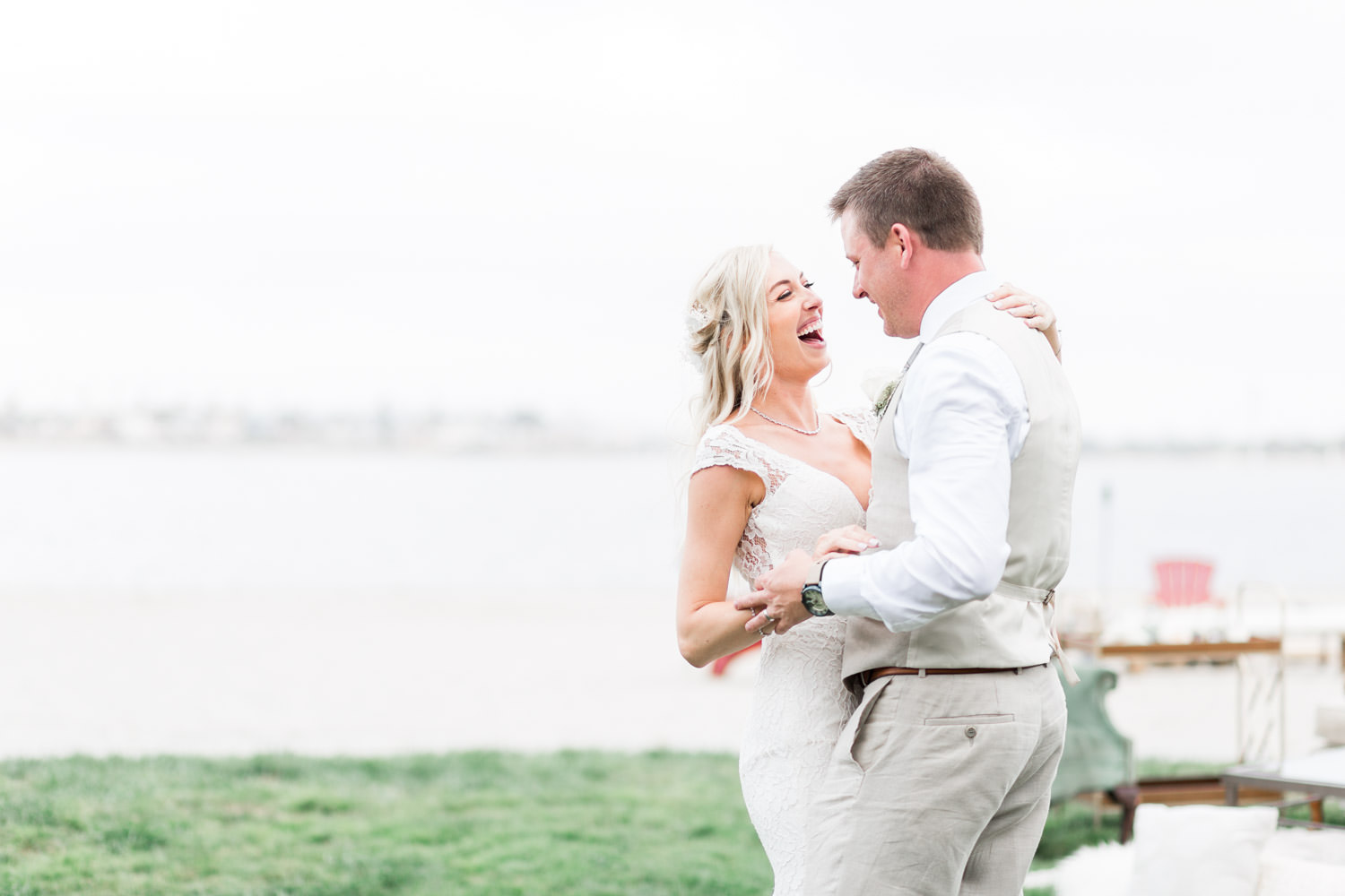Intimate San Diego Catamaran Resort Wedding on Mission Bay by Cavin Elizabeth