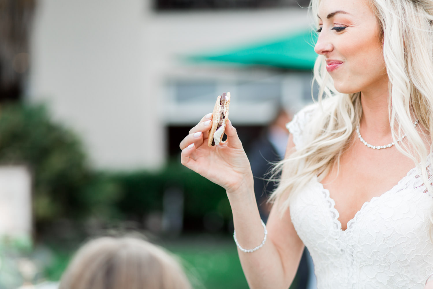 S'mores for the wedding reception, Intimate San Diego Catamaran Resort Wedding on Mission Bay by Cavin Elizabeth