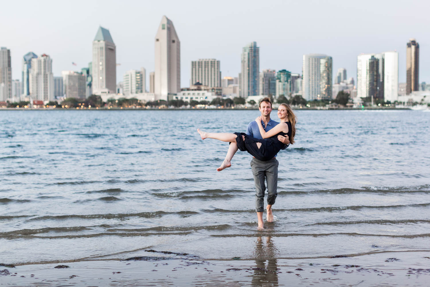 Dreamy End of Summer Coronado Sailboat Engagement Photos