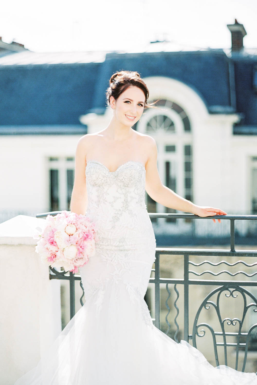 Rooftop Hotel Marignan Wedding Inspiration in Paris France by Cavin Elizabeth Photography, Paris wedding