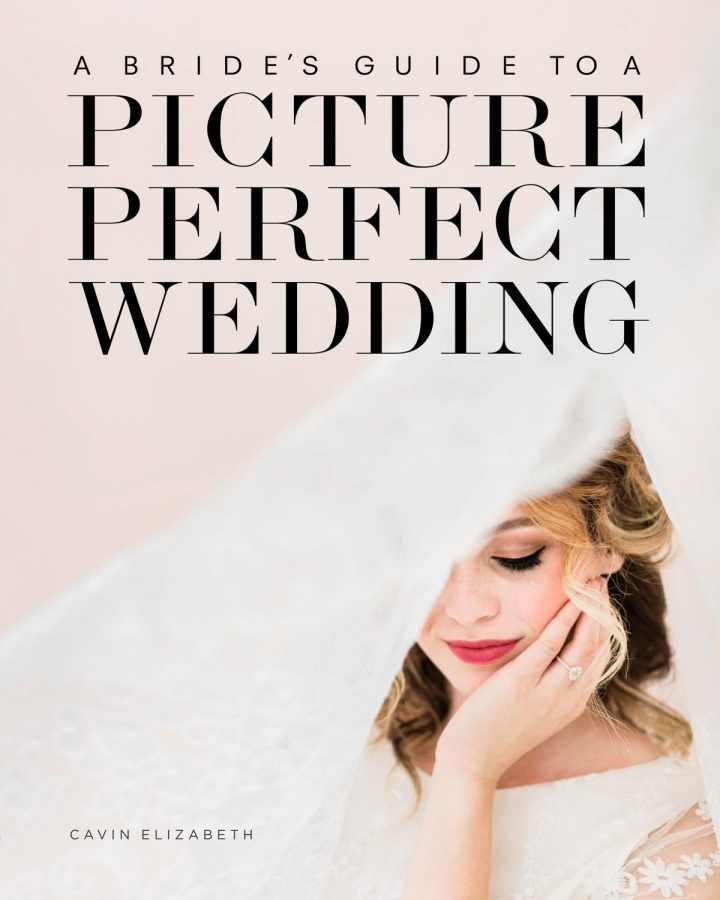 A Bride's Guide to a Picture Perfect Wedding by Cavin Elizabeth