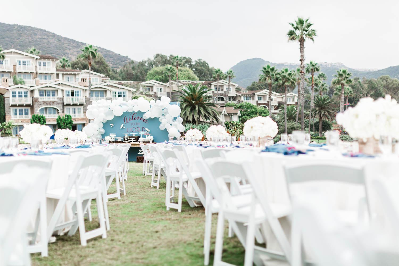 Luxurious Montage Laguna Beach Baby Shower with Details Details