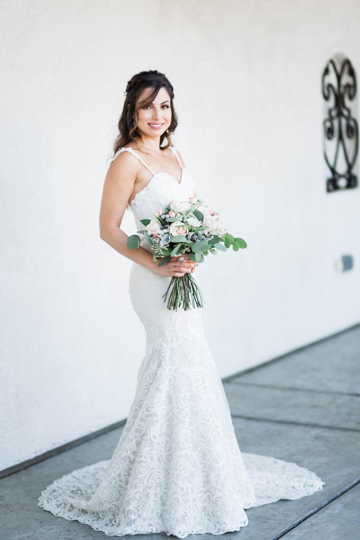 Bridal portrait at Omni Rancho Las Palmas in Rancho Mirage, Cavin Elizabeth Photography