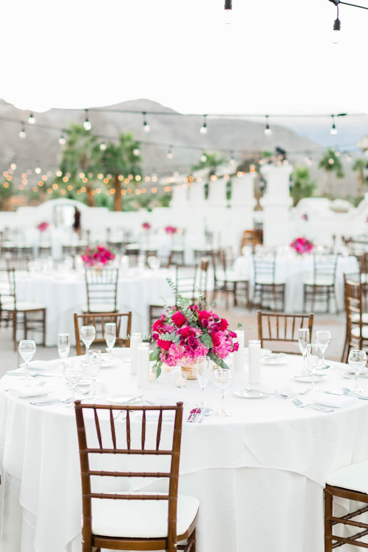 White green pink and purple wedding reception at the Omni Rancho Las Palmas, Cavin Elizabeth Photography