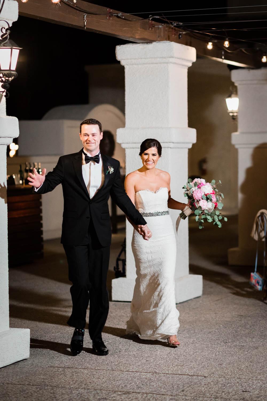 Grand entrance at Omni Rancho Las Palmas wedding, Cavin Elizabeth Photography