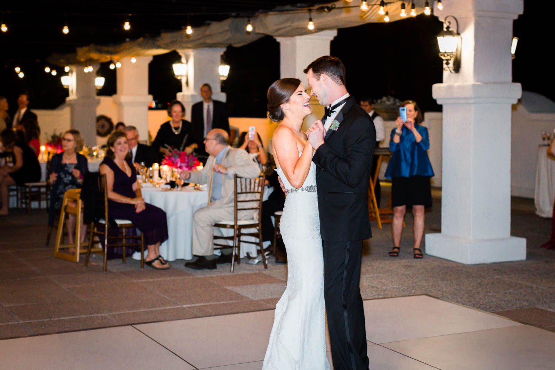 First dance at Omni Rancho Las Palmas wedding, Cavin Elizabeth Photography