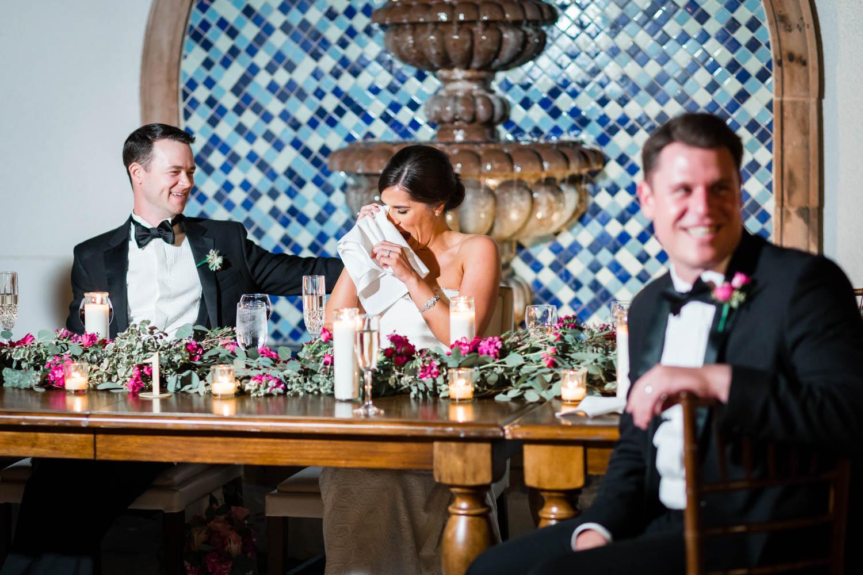 Speeches at Omni Rancho Las Palmas wedding, Cavin Elizabeth Photography