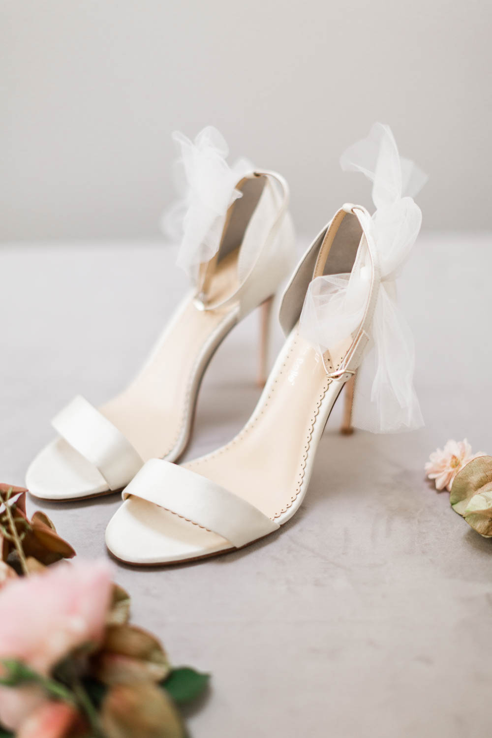 Bella Belle Elise shoes with white tulle, Cavin Elizabeth Photography