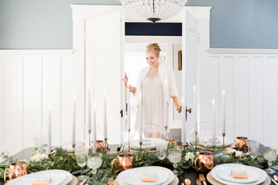 winter wedding inspiration on Style Me Pretty Living