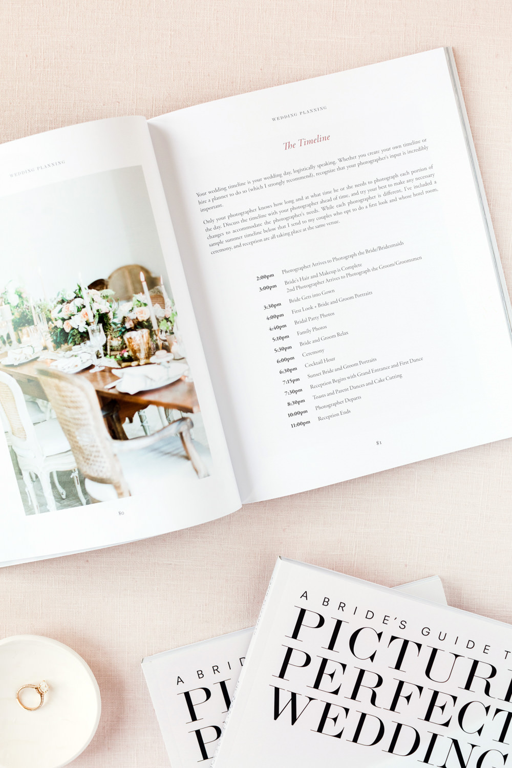 A Bride's Guide to a Picture Perfect Wedding, wedding planning book and guide with tips for brides about how to have better wedding photography