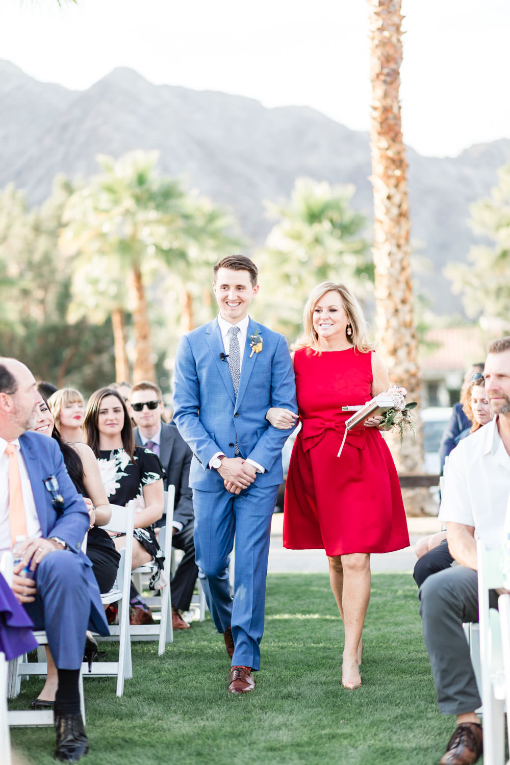 La Quinta Resort wedding ceremony, Cavin Elizabeth Photography