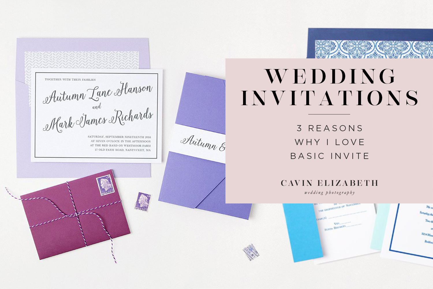 Basic Invite Wedding Invitations: 3 Reasons Why I Love Basic Invite And Their Gorgeous