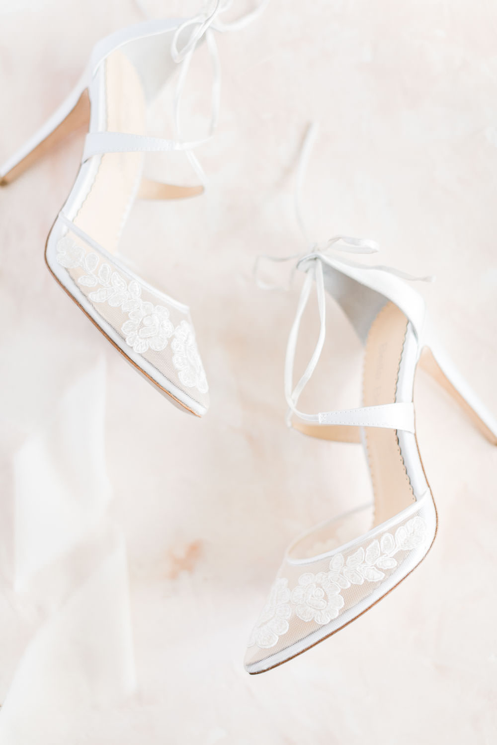 Bella Belle closed toe lace heel wedding shoe, Cavin Elizabeth Photography