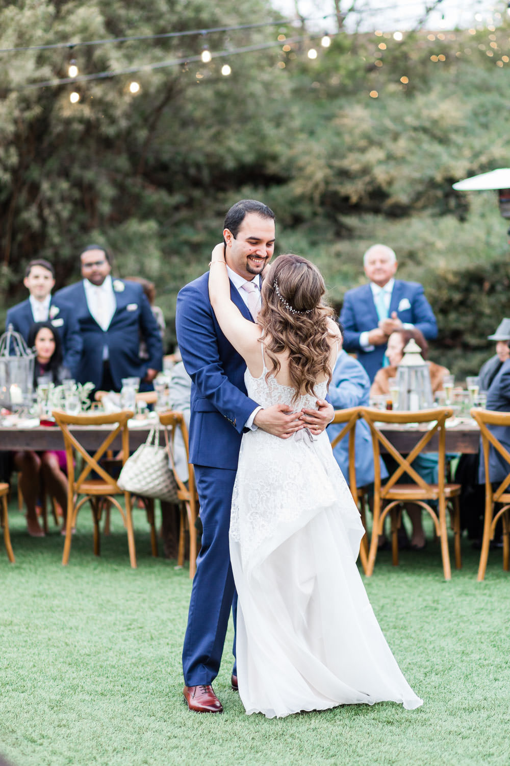 First dance, Ethereal Open Air Resort Wedding Reception, Cavin Elizabeth Photography