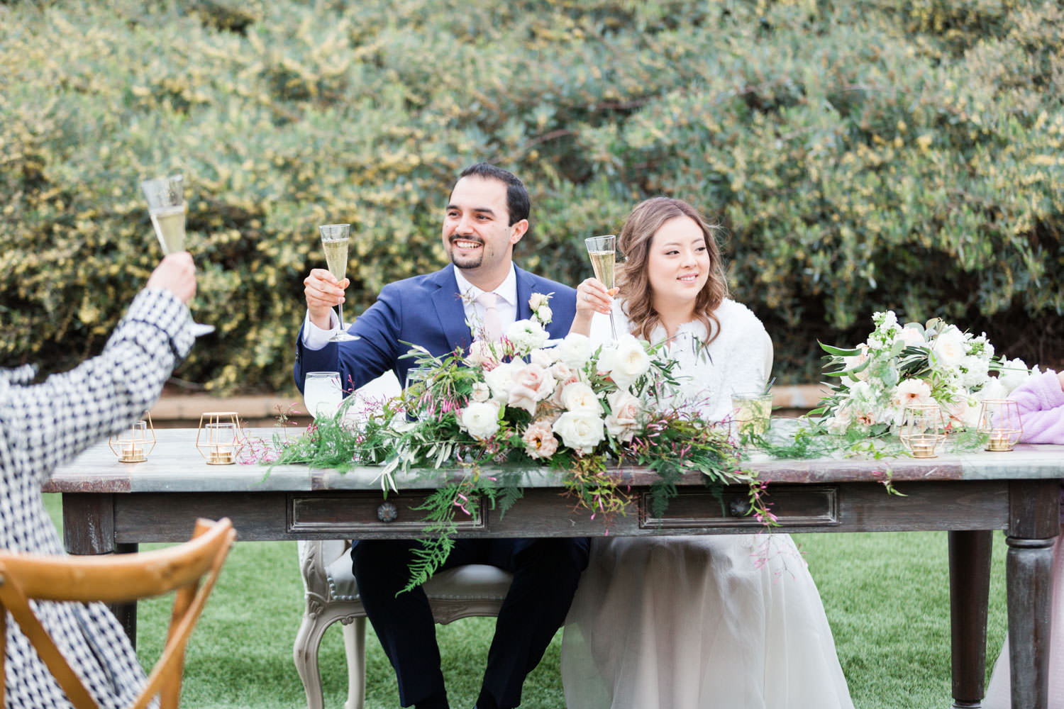 Toasts and speeches, Ethereal Open Air Resort Wedding Reception, Cavin Elizabeth Photography