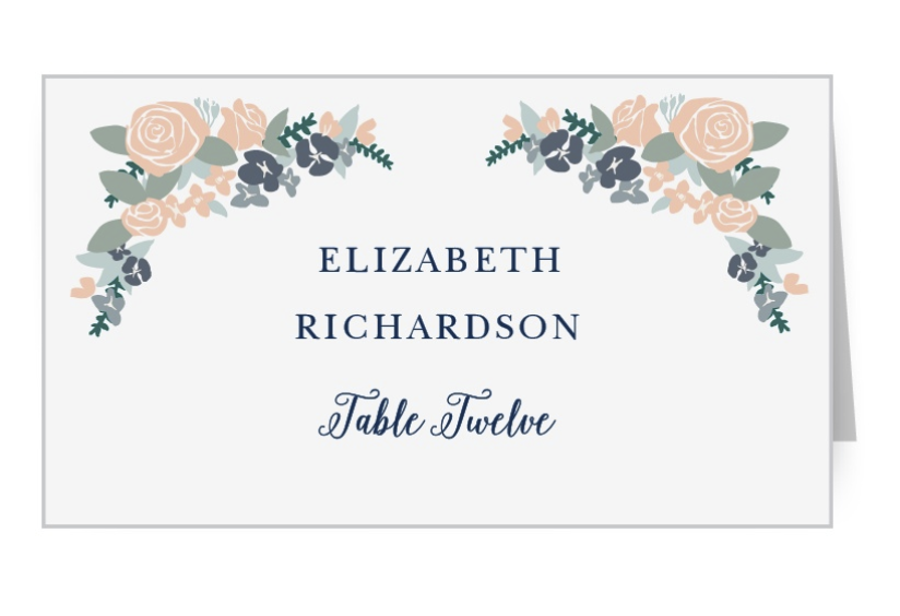 Basic Invite place card