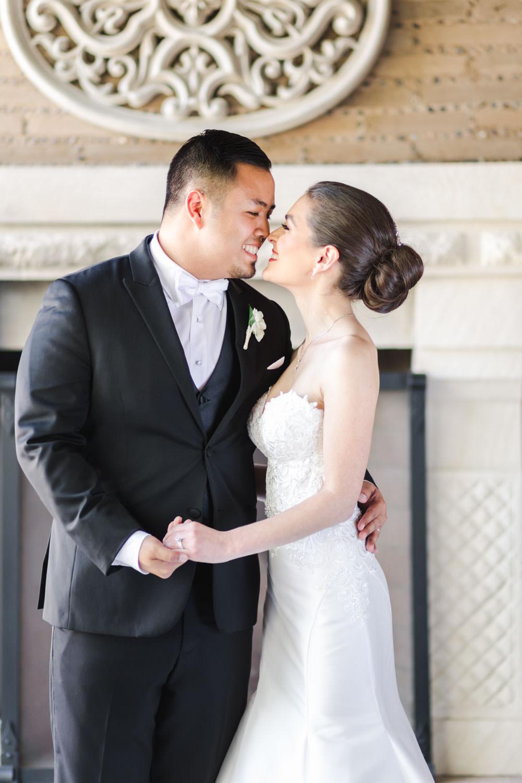 Bride and groom portrait, Santalux Club wedding reception, Cavin Elizabeth Photography