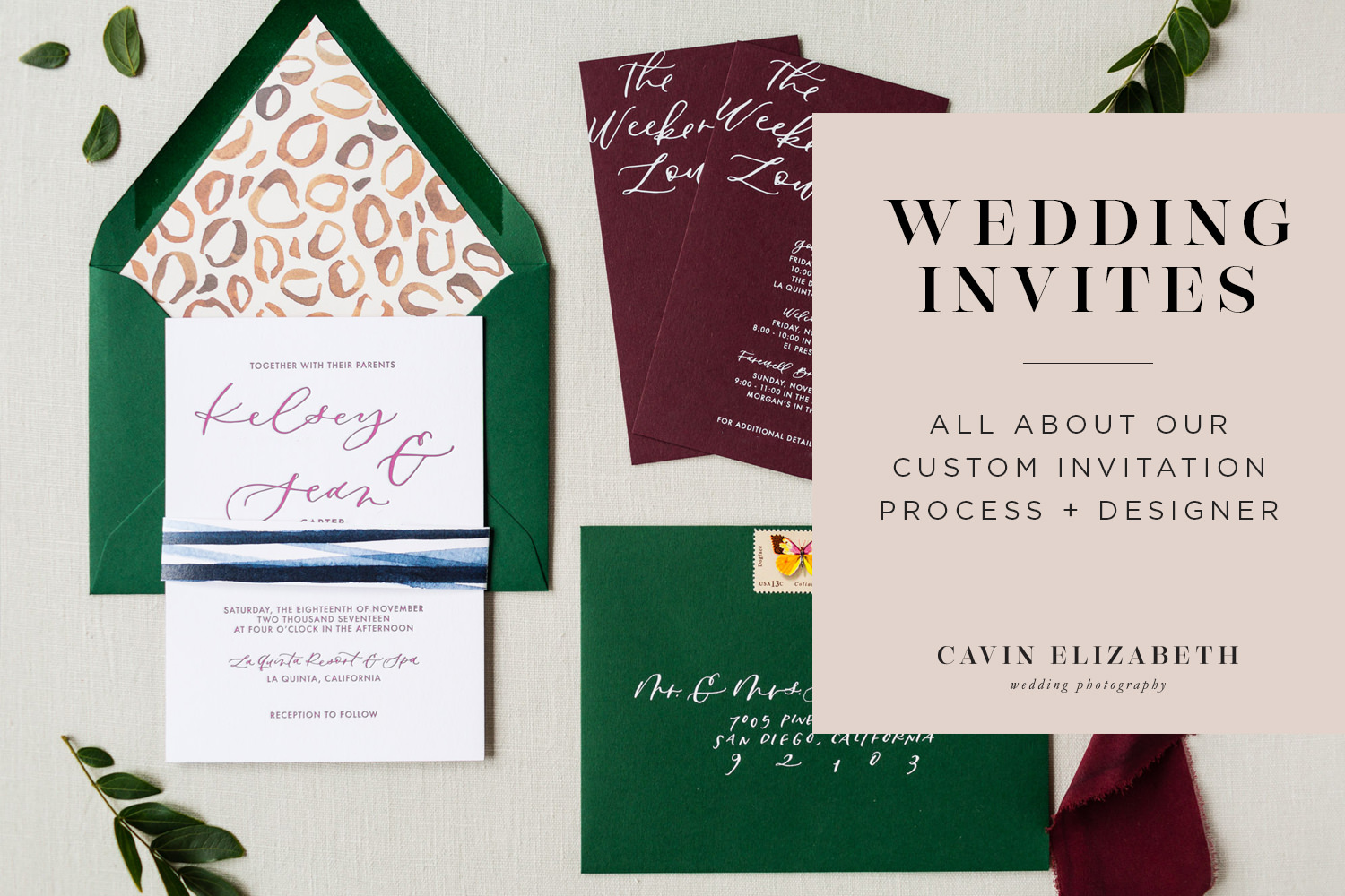 How We Chose Our Custom Wedding Invitation Designer