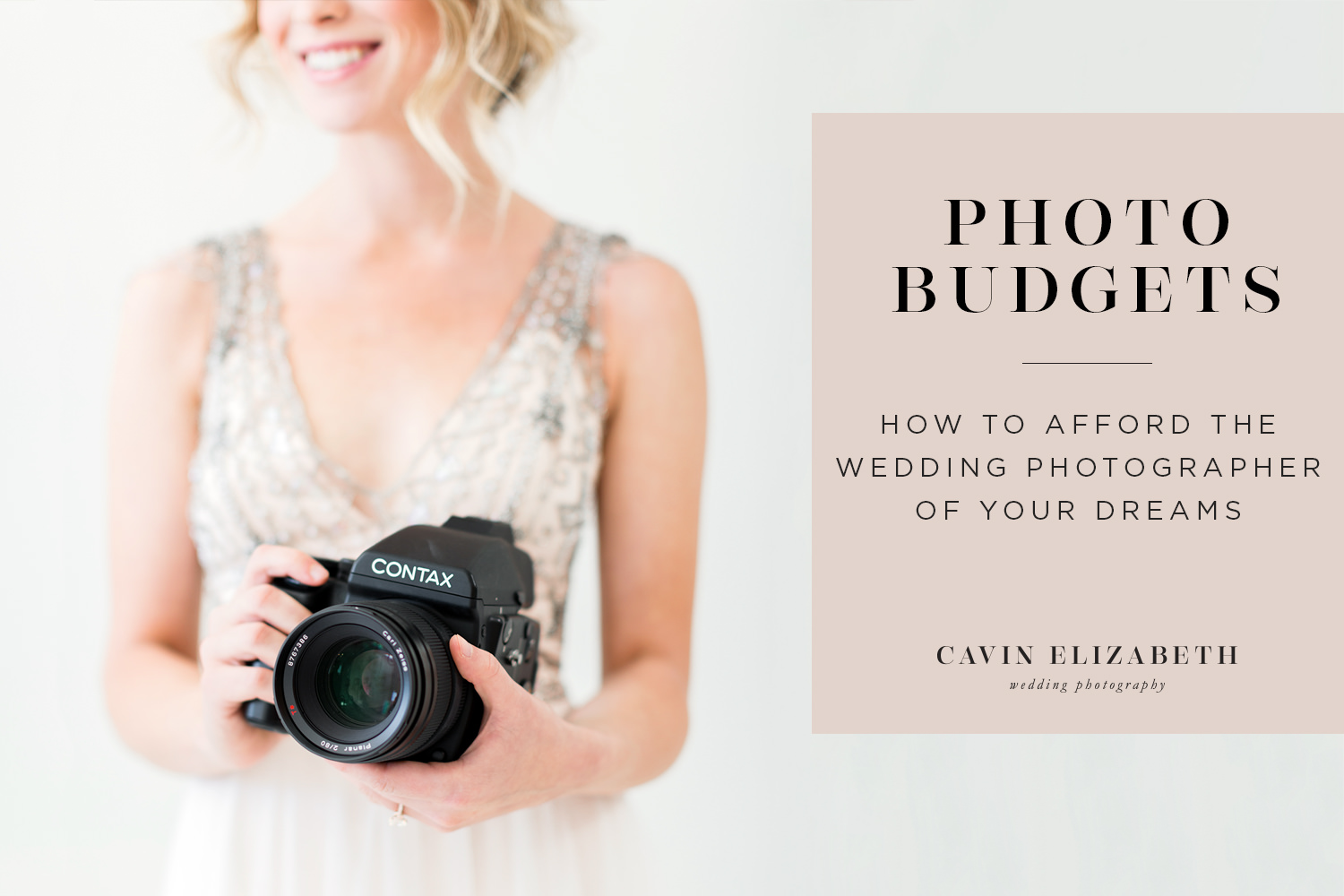 How to Afford the Wedding Photographer of Your Dreams, Making more room in your wedding budget for photography