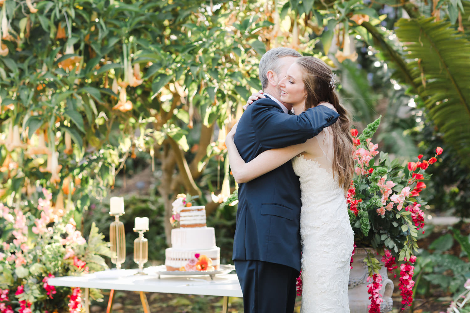 Toasts at San Diego Botanic Garden wedding, Cavin Elizabeth Photography