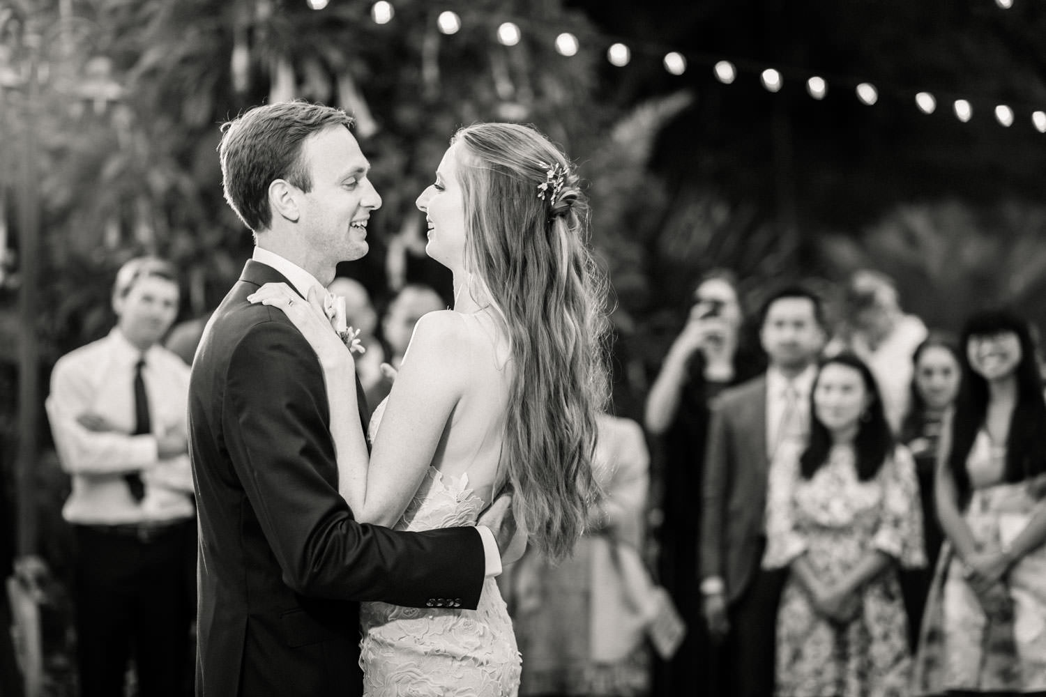 First dance at San Diego Botanical Garden, Cavin Elizabeth Photography