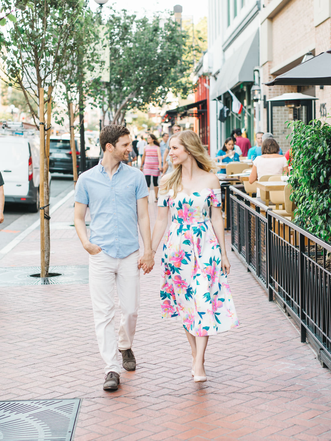 The Pendry Hotel in San Diego engagement photos