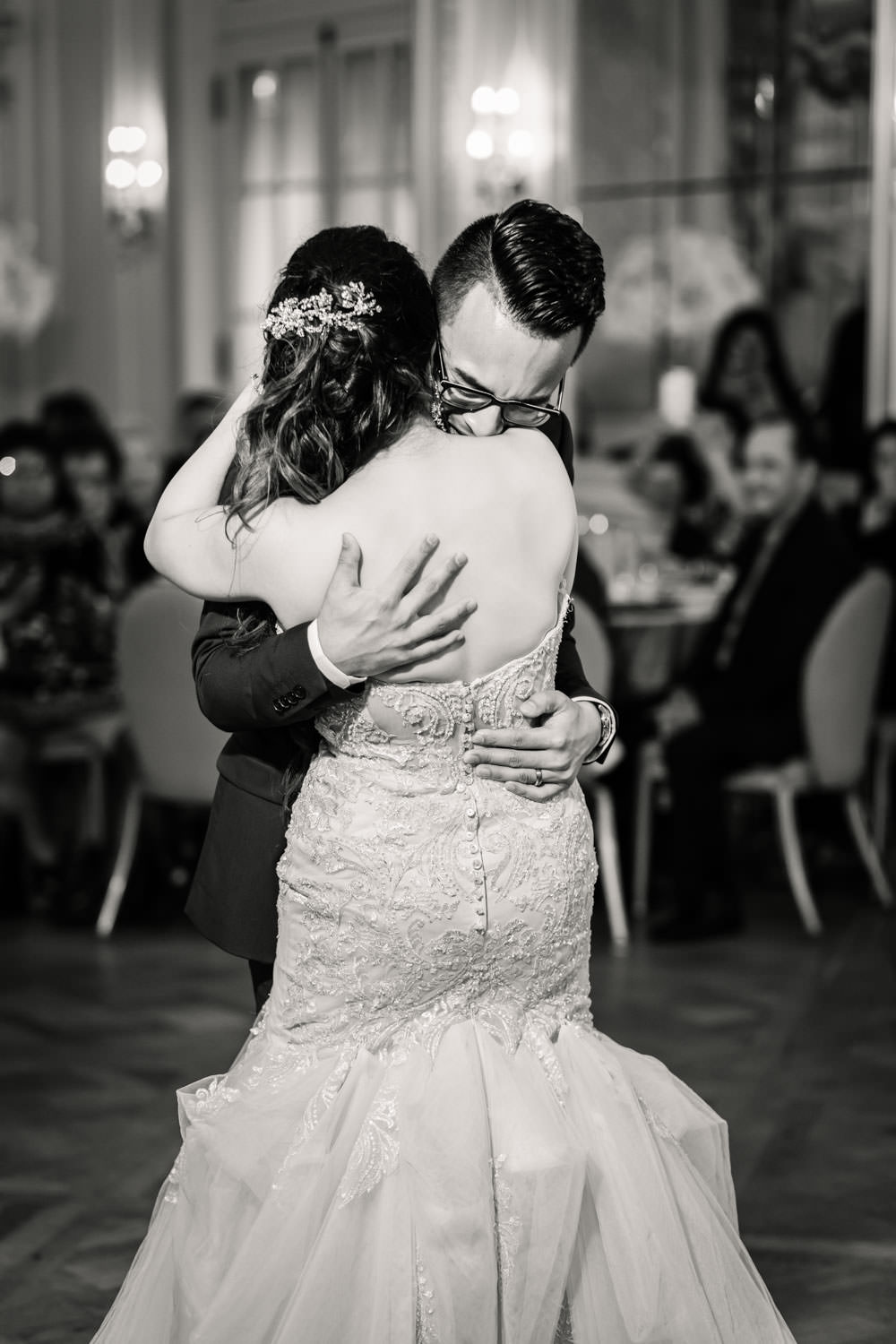 First dance for reception at Westgate Hotel in San Diego, Cavin Elizabeth Photography