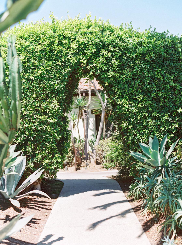 Estancia La Jolla Wedding Venue - San Diego Film Photographer Cavin Elizabeth Photography