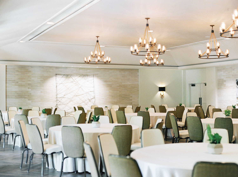 Grande Room Ballroom at Estancia La Jolla Wedding Venue - San Diego Film Photographer Cavin Elizabeth Photography