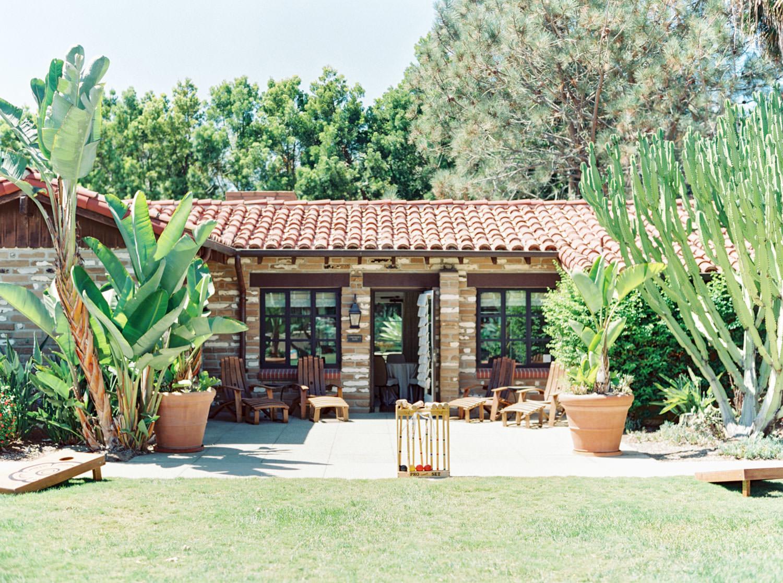 Hacienda at Estancia La Jolla Wedding Venue - San Diego Film Photographer Cavin Elizabeth Photography