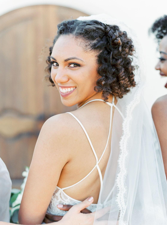 Bridal party film portrait at Temecula Wedding at Villa De Amore, Cavin Elizabeth Photography