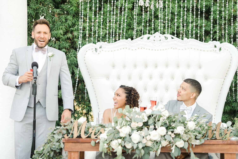 Toasts at Temecula Wedding at Villa De Amore, Cavin Elizabeth Photography