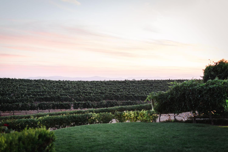Sunset at Temecula Wedding at Villa De Amore, Cavin Elizabeth Photography
