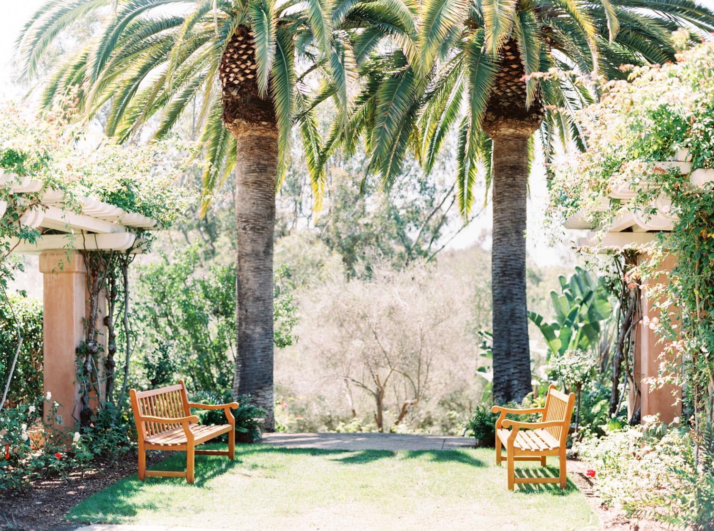 Weddings at Rancho Valencia in the Rose Garden, Cavin Elizabeth Photography - San Diego film photographer