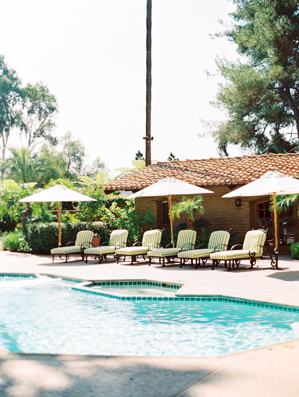 Rancho Valencia Hacienda wedding private venue rental, film by Cavin Elizabeth Photography