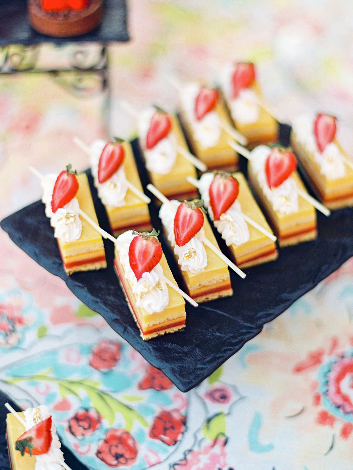 Desserts at Manchester Terrace at Wedding at the Fairmont Grand Del Mar, Cavin Elizabeth Photography