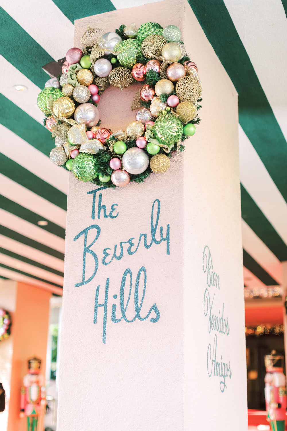 Chic Beverly Hills Hotel Bridal Shower in Los Angeles during Christmas decorations, Cavin Elizabeth Photography