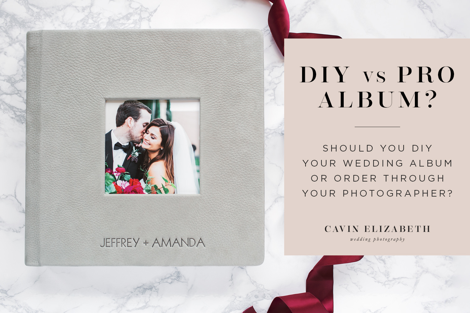 DIY or Professional Wedding Album? Why Pro is Worth the Cost, order your album through your wedding photographer for best results