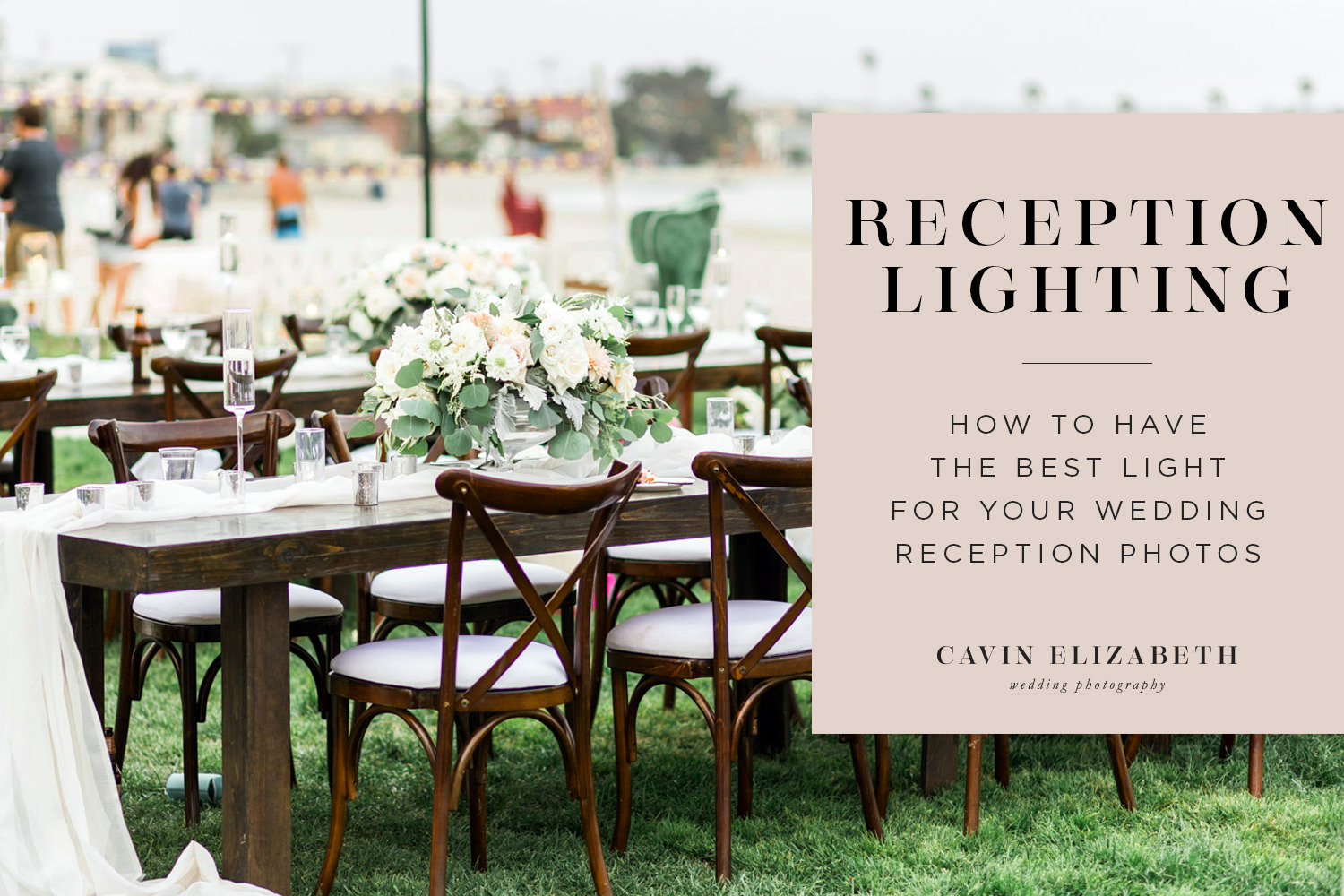Reception Lighting Tips for Brides and Grooms