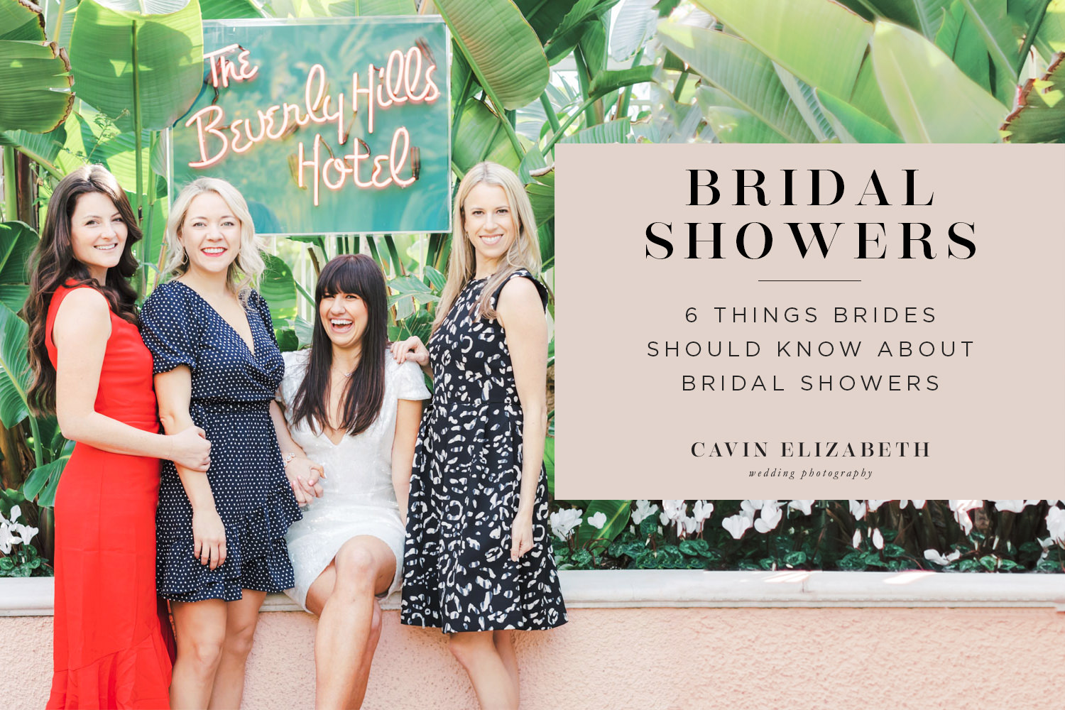 6 Things Brides Should Know About Bridal Showers: Who hosts, when to have the shower, who to invite, how many showers can you have, and more!