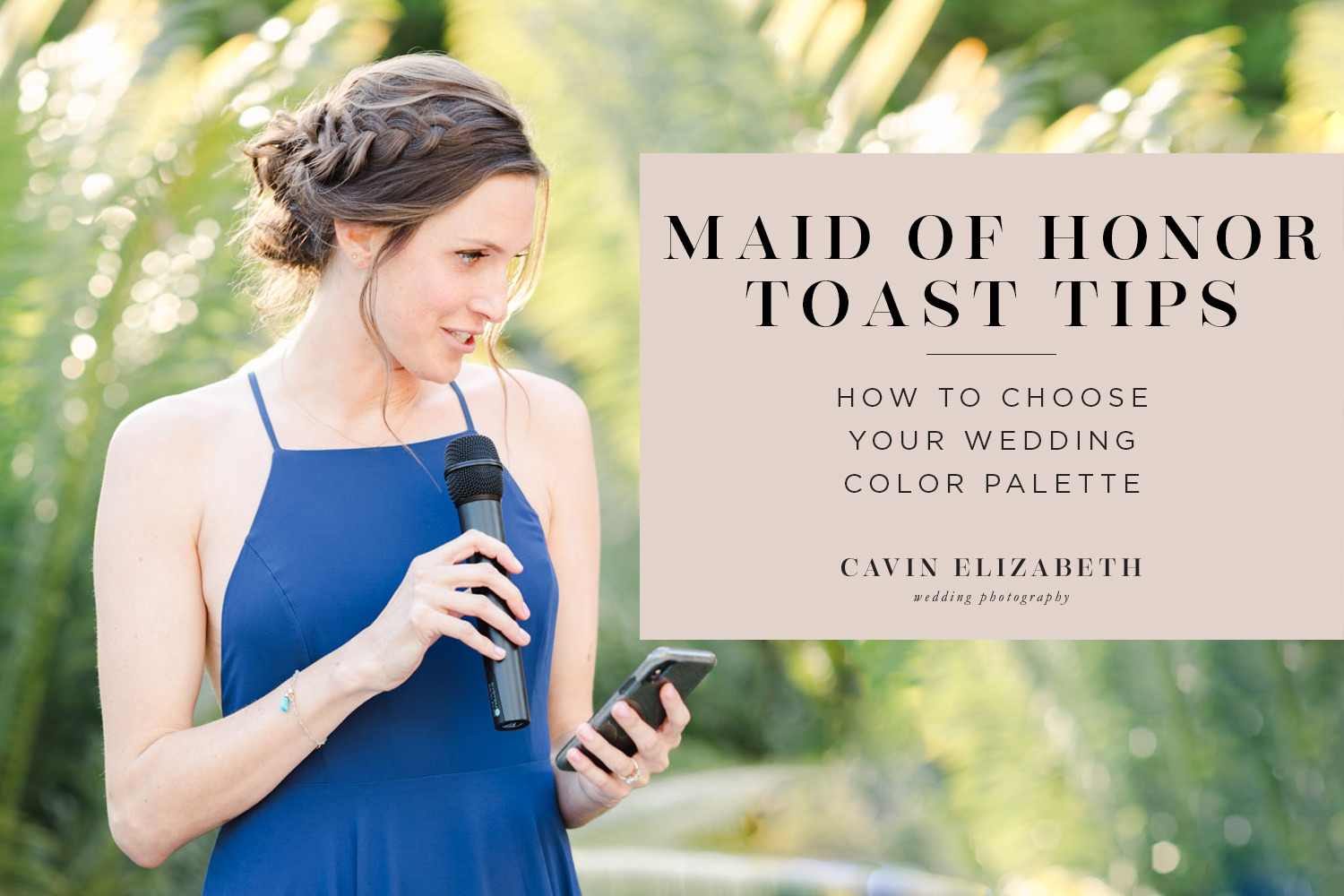 Maid of Honor Speech Tips for Giving a Great Toast