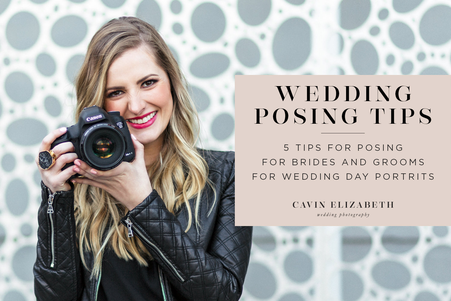 5 Posing Tips for Brides & Grooms from a Photographer