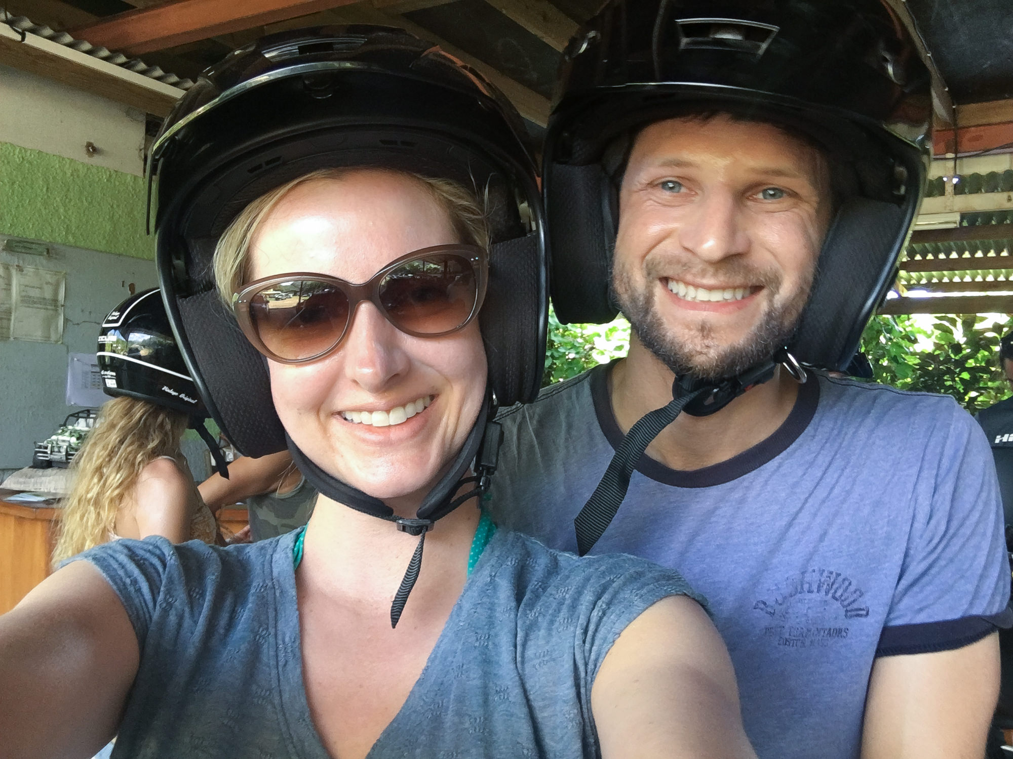 Bora Bora ATV Tour for our honeymoon