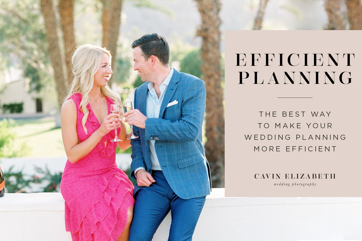 Expert Tip to Make Wedding Planning More Efficient