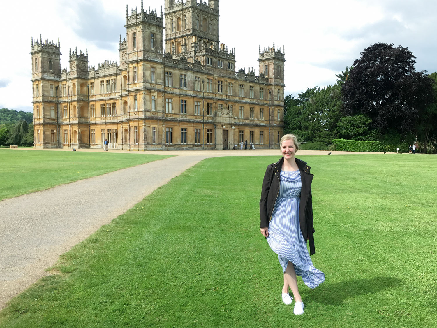 Visiting Highclere Castle in England where Downton Abbey is filmed