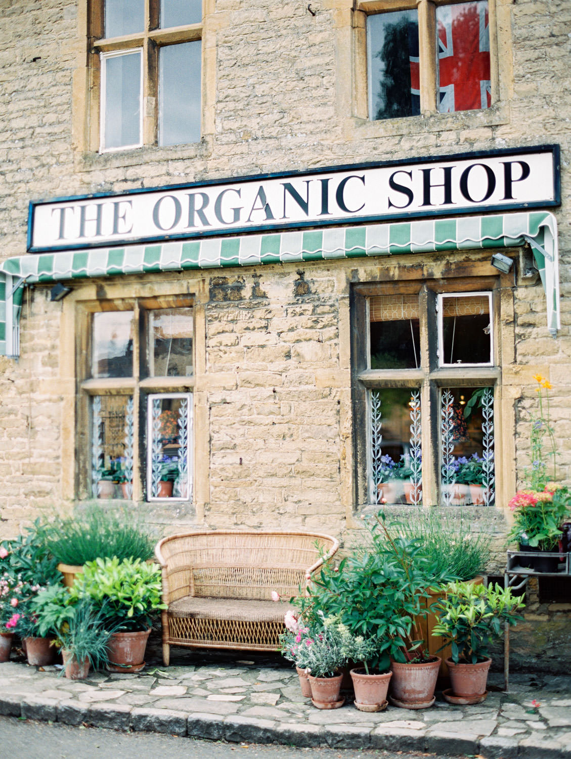Stow-on-the-Wold The Organic Shop in the Cotswolds. Flutter Magazine Retreat in the Cotswolds, England. Photo by Cavin Elizabeth Photography on film